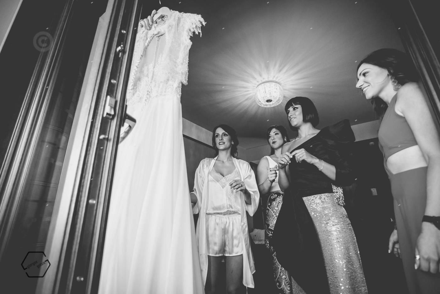 wedding at grand meteora hotel