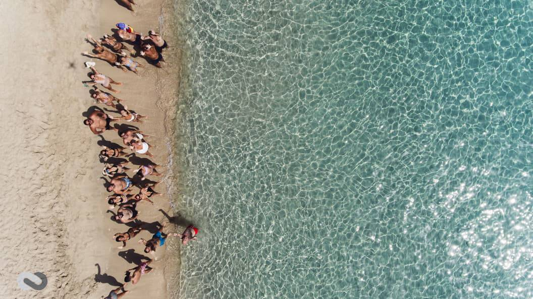 pre wedding σε παραλία